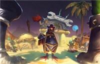 玩家原创画作:塔纳利斯的小鸡护送任务