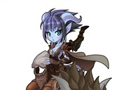 魔兽玩家绘画:我们的追随者-Q版游侠卡尔娅