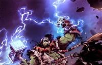 魔兽画作欣赏:超燃风格的德拉诺领袖和萨尔