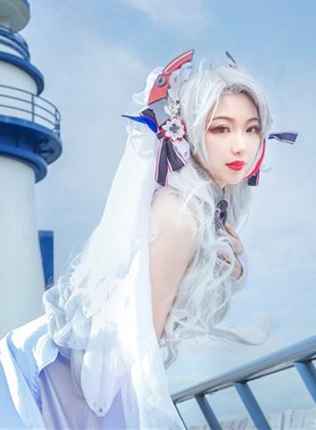 碧藍-歐根花嫁