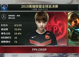 S9小组赛:Crisp秀绝活 FPX拿下dafa888下载胜