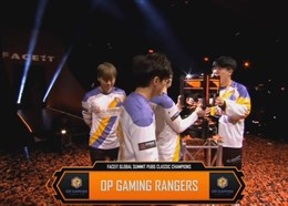 FGS决赛R12:OP Rangers天命圈砸脸 获得冠军